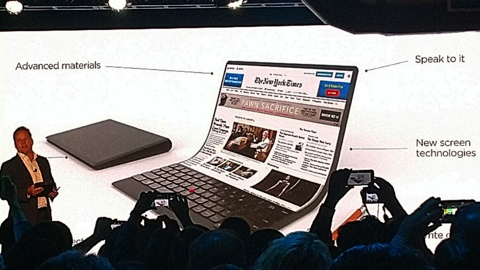 Lenovo savitljivi laptop