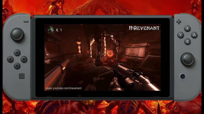 Doom na Nintendo Switch