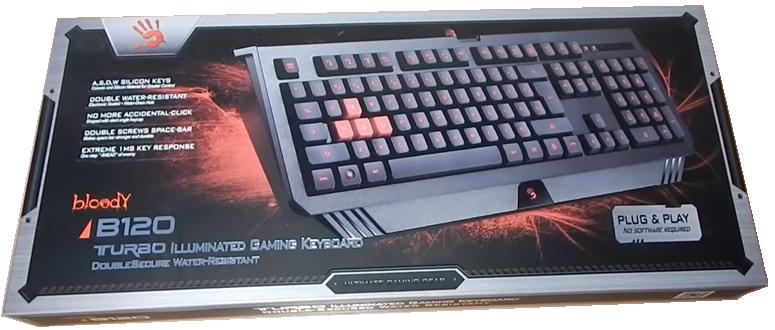 A4-Tech B120 Bloody