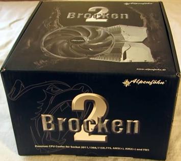 Alpenfohn Brocken 2