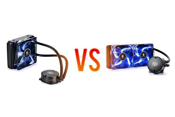 DeepCool Maelstorm 120T vs DeepCool Maelstorm 240T