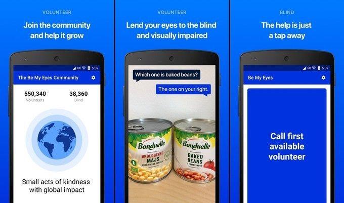 Aplikacija za slepe