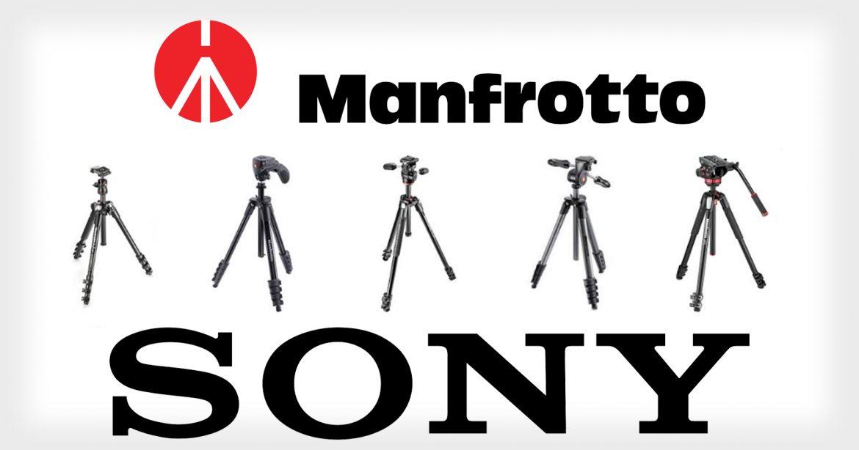 Sony uspostavio saradnju sa kompanijom Manfrotto