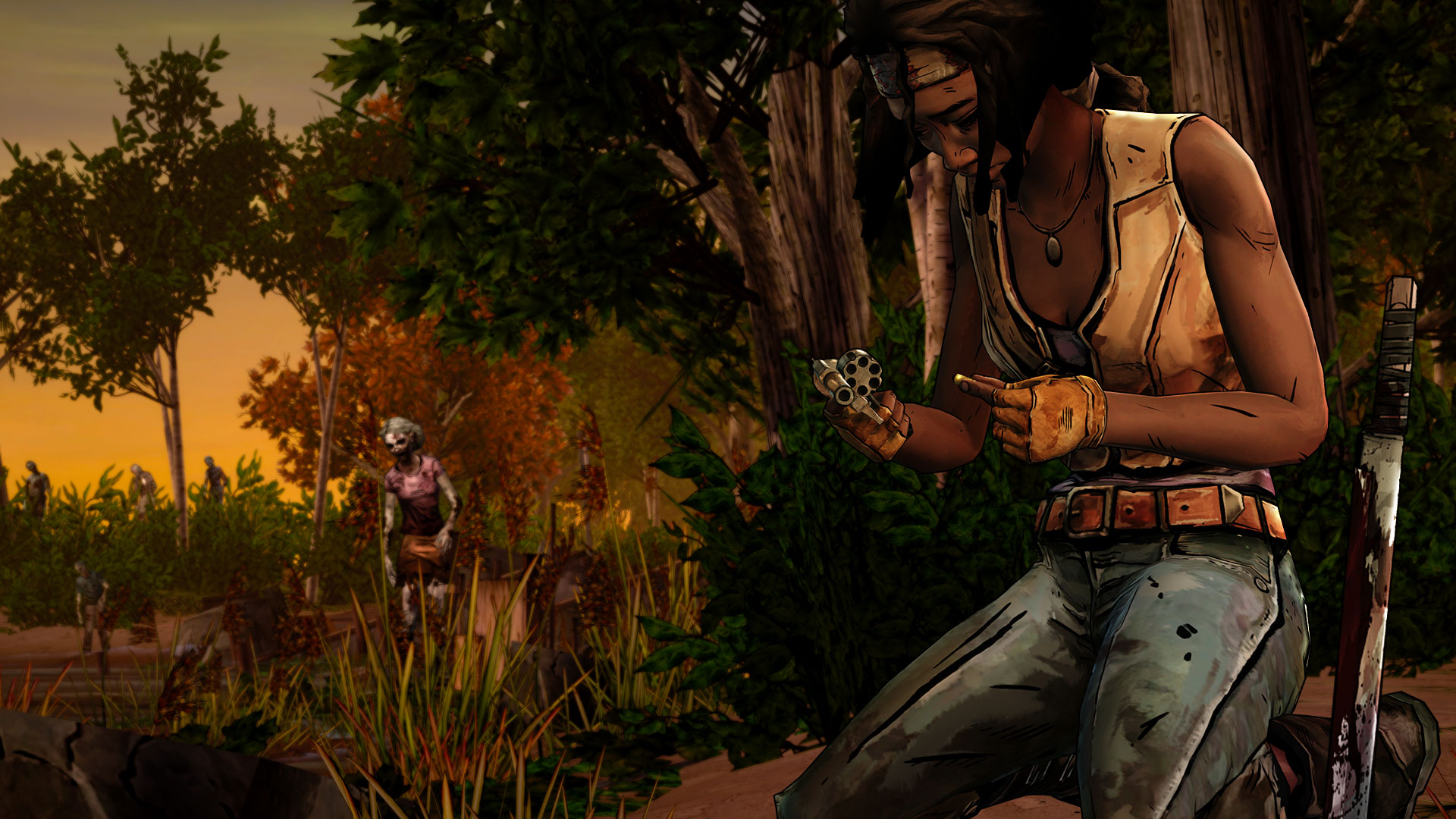 The Walking Dead: Michonne – Episode 1: In Too Deep