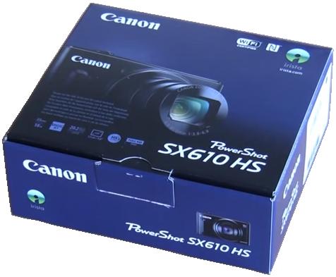 Canon SX610HS