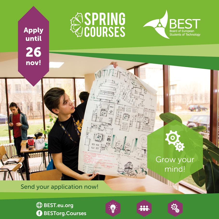 Studentska organizacija BEST Niš - Sezona prolećnih akademskih kurseva