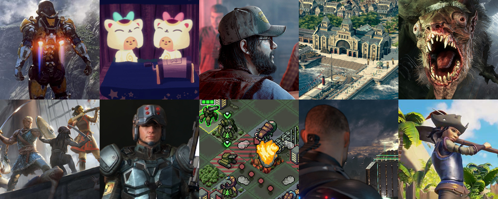 2018 games PC
