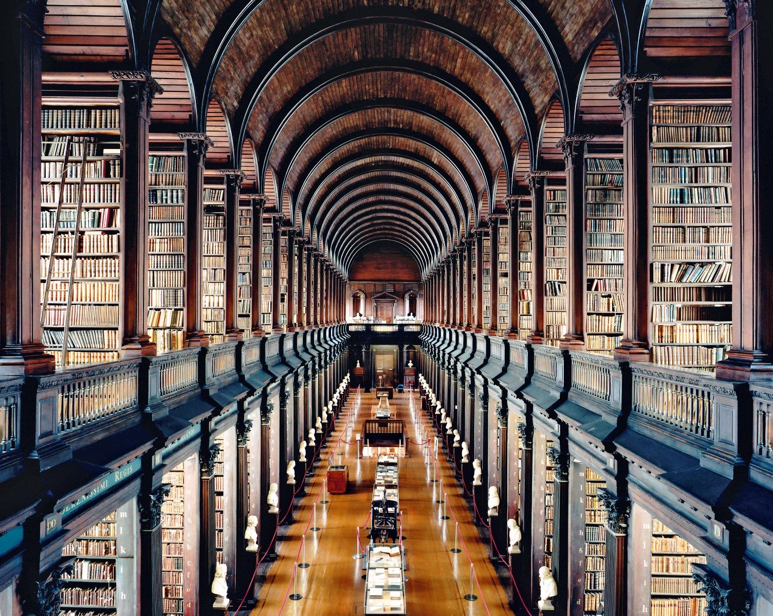 Biblioteka Triniti koledza u Dablinu I 2004._Kandida Hofer