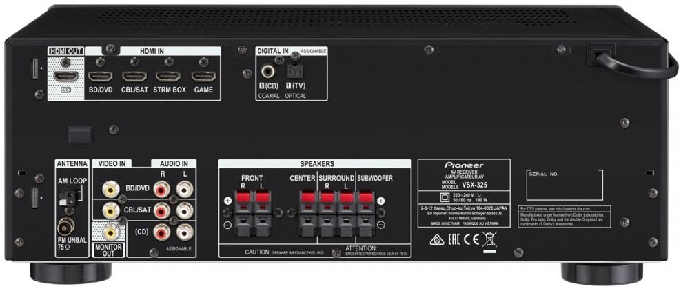 Pioneer HTP-075 BT 5.1