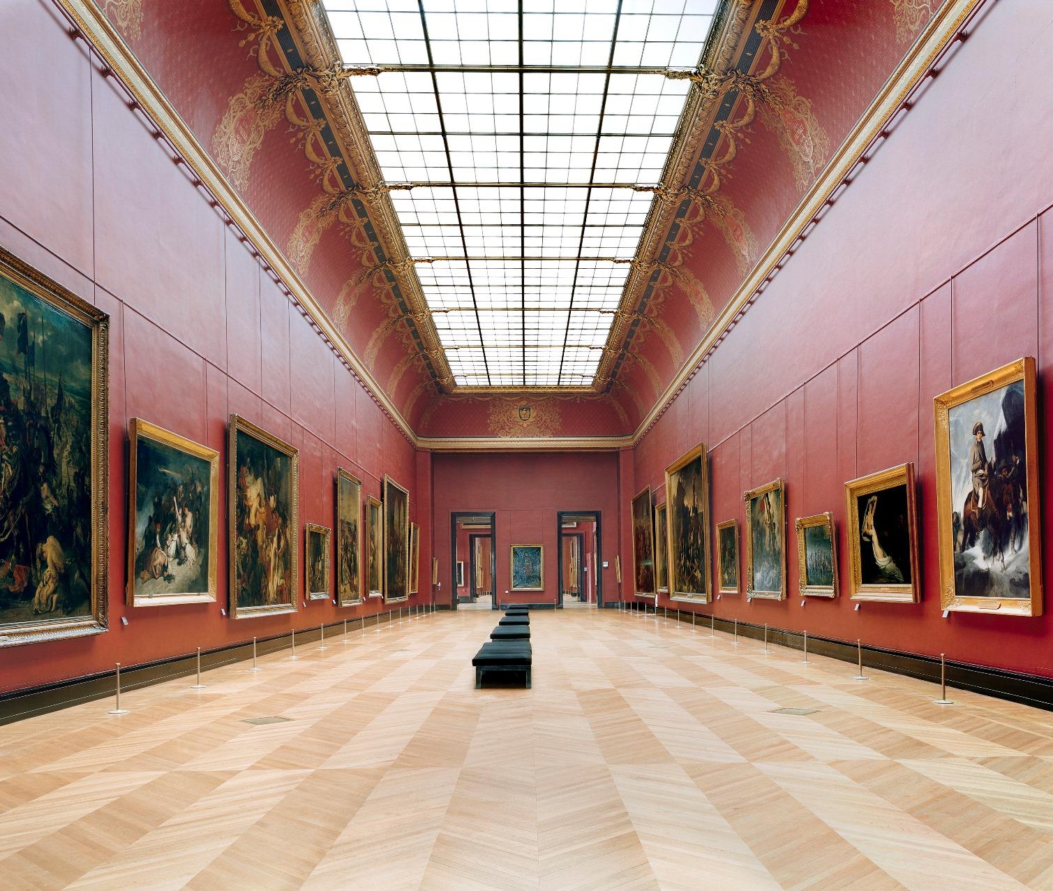 Muzej Luvr u Parizu XXI 2005._Kandida Hofer