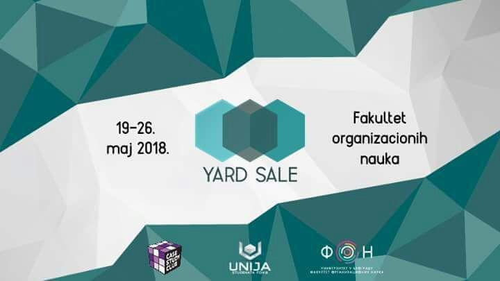 Yard Sale 2018