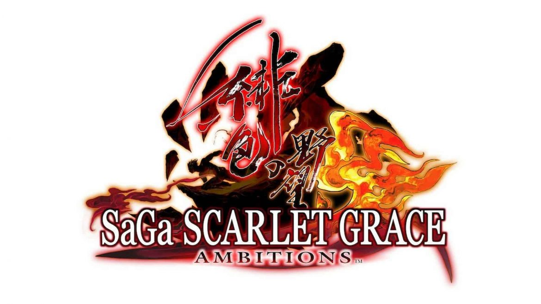 SaGa Scarlet Naslovna