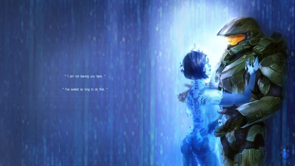 The Master Chief i Cortana