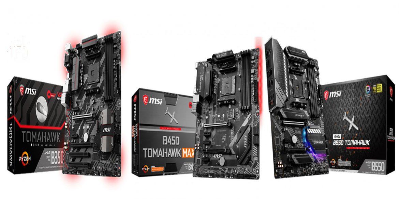 AMD B350 vs B450 vs B550 Tomahawk Naslovna