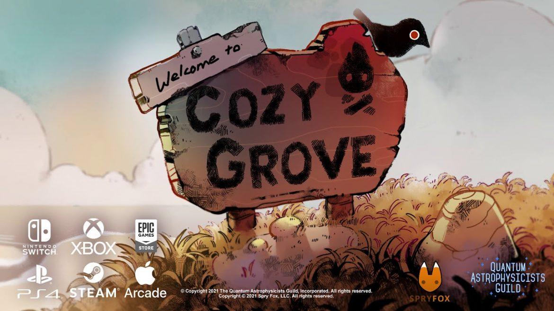 Cozy Grove Naslovna