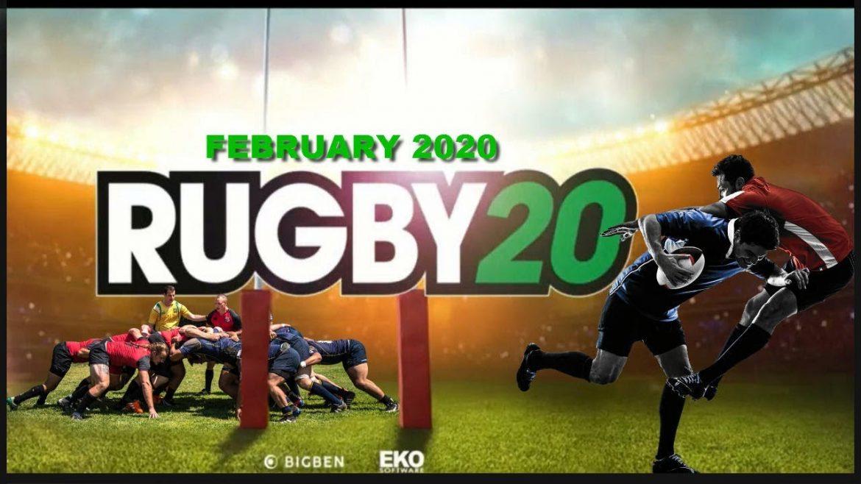Rugby 20 Naslovna