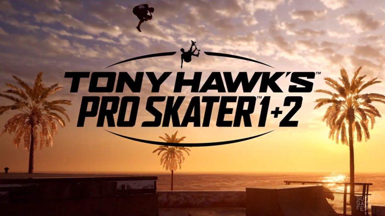 Tony Hawk's Pro Skater 1 + 2 Naslovna
