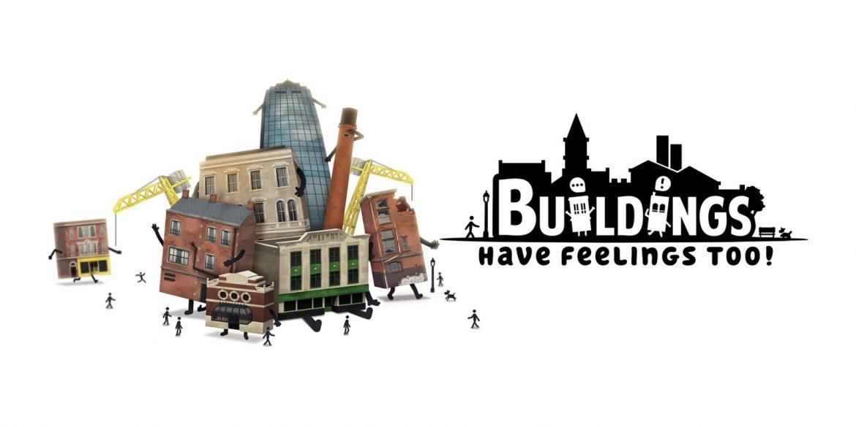 Buildings Have Feelings Too! Naslovna