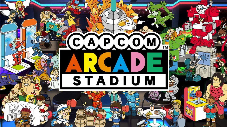 Capcom Arcade Stadium Naslovna