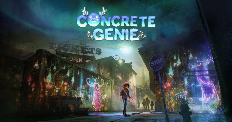 Concrete Genie Naslovna