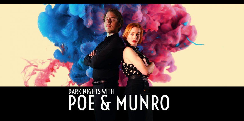 Dark Nights with Poe and Munro Naslovna