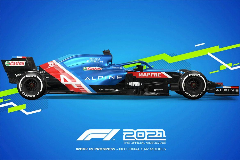 F1 2021 Naslovna