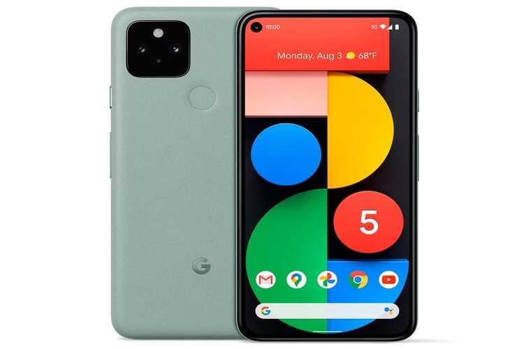 Google Pixel 5 Naslovna