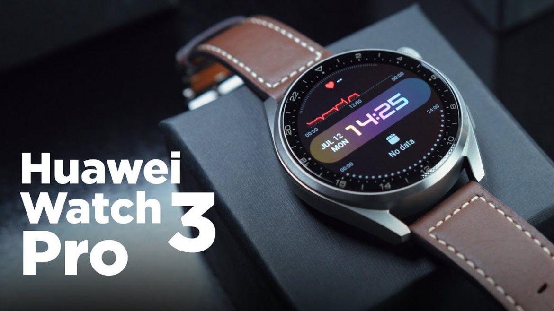 Huawei Watch 3 Pro Naslovna