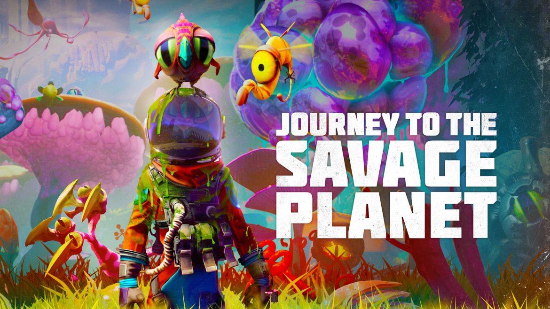 Journey to the Savage Planet Naslovna