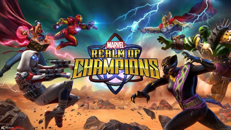 Marvel Realm of Champions Naslovna