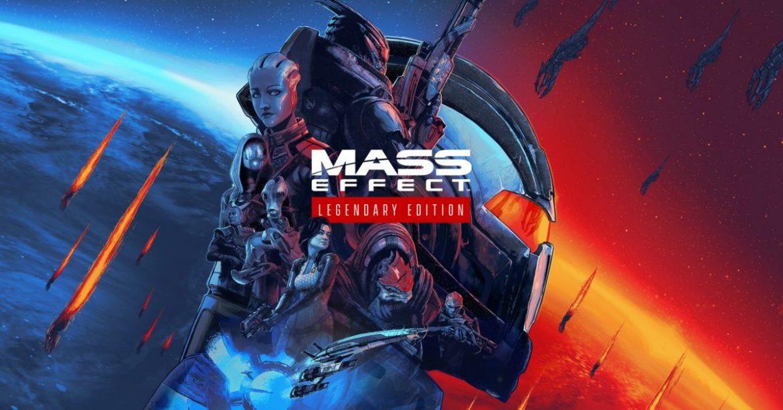 Mass Effect Legendary Edition Naslovna