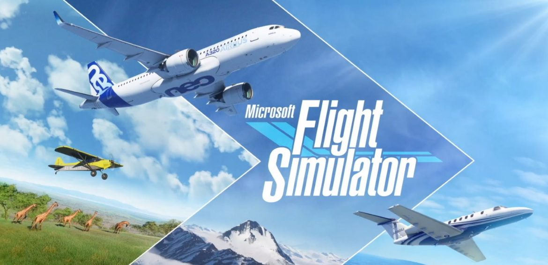Microsoft Flight Simulator Naslovna