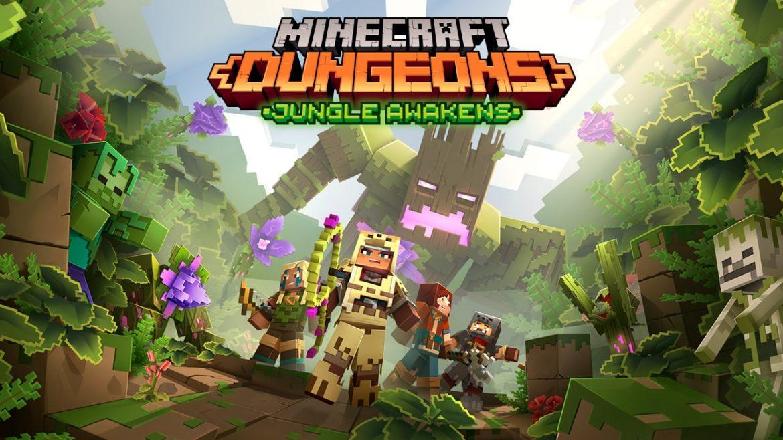 Minecraft Dungeons Naslovna