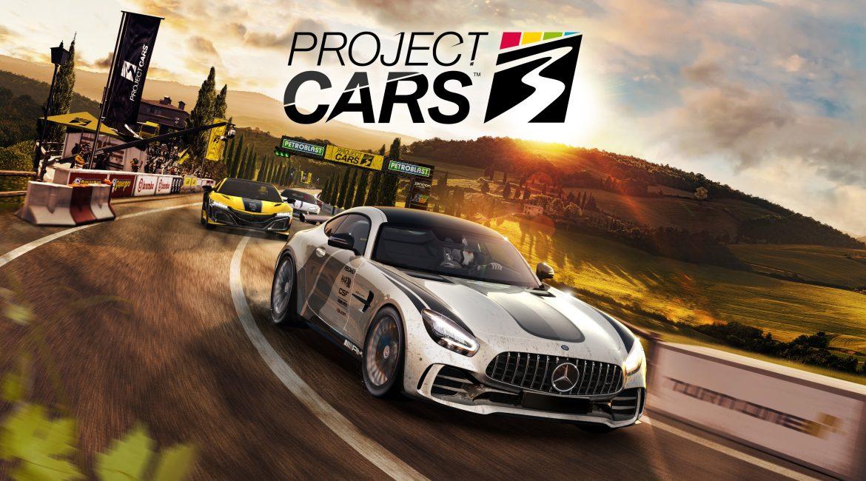 Project Cars 3 Naslovna