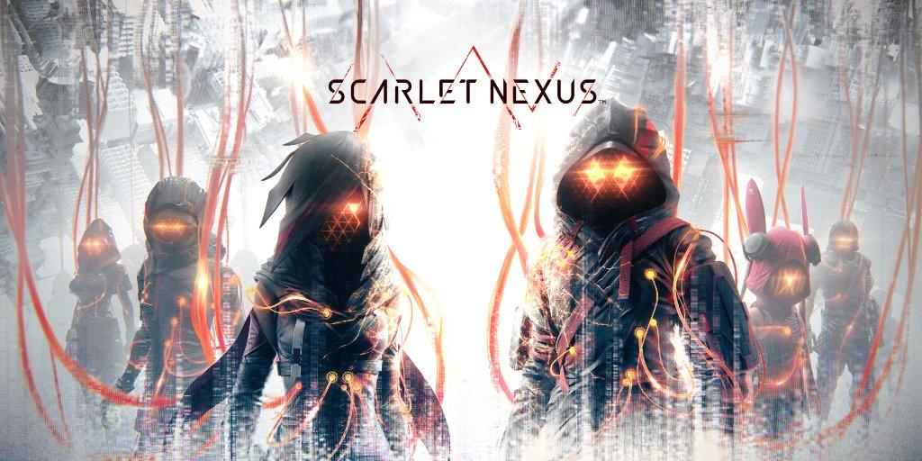 Scarlet Nexus Naslovna