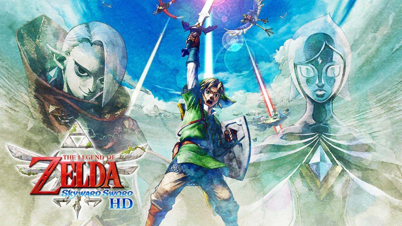 The Legend of Zelda Skyward Sword Naslovna