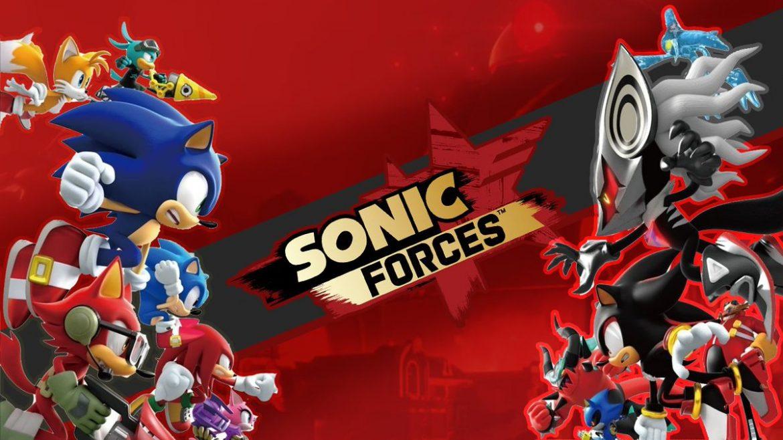 Sonic Forces (PS4) Naslovna