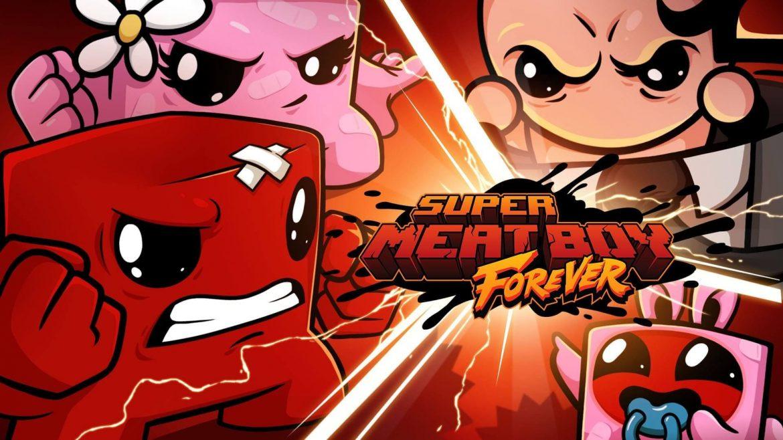 Super Meat Boy Forever Naslovna