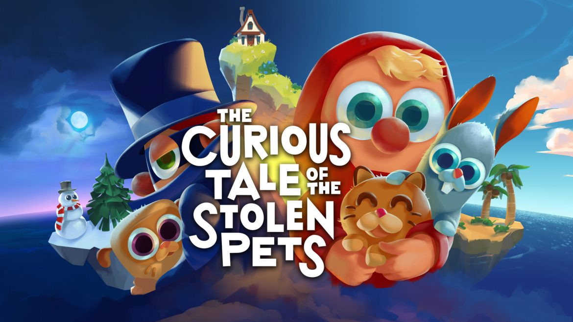 The Curious Tale of the Stolen Pets Naslovna