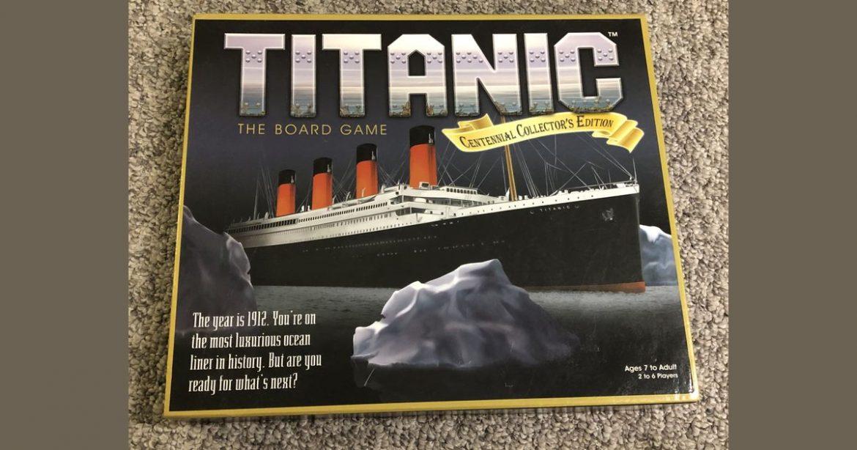 Titanic The Game Naslovna