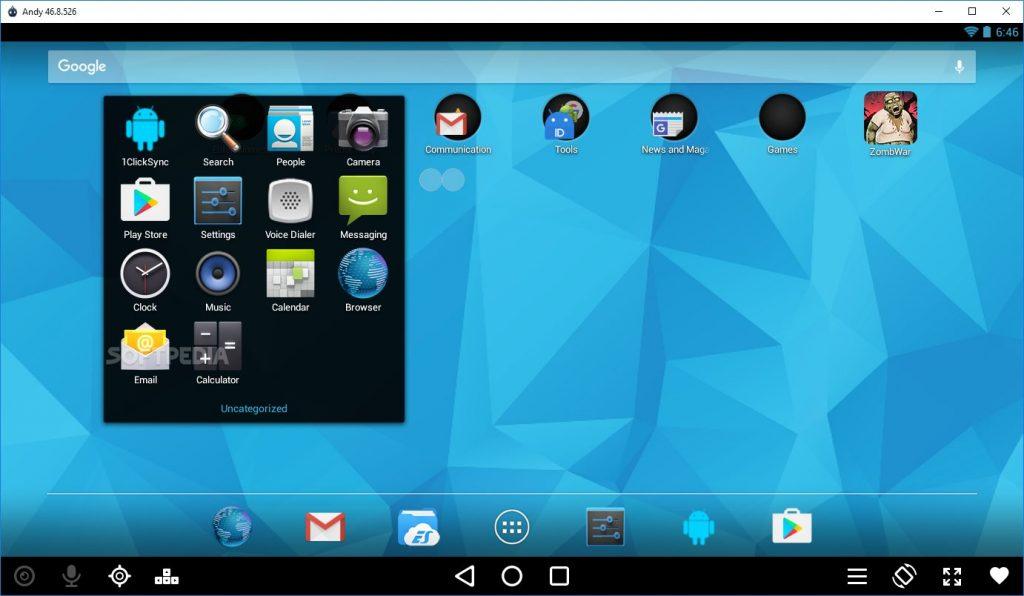 Android emulatora