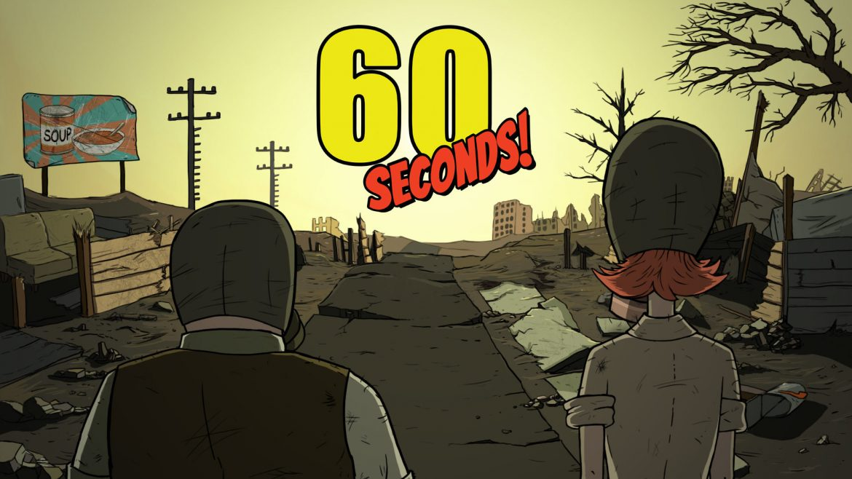 60 Seconds! Naslovna