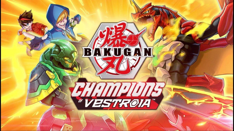Champions of Vestroia Naslovna