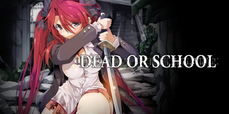 Dead or School Naslovna