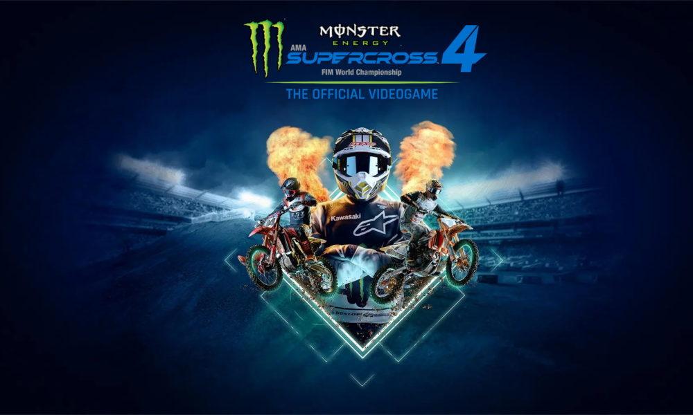 Monster Energy Supercross 4 Naslovna