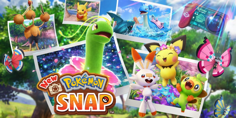 New Pokemon Snap Naslovna