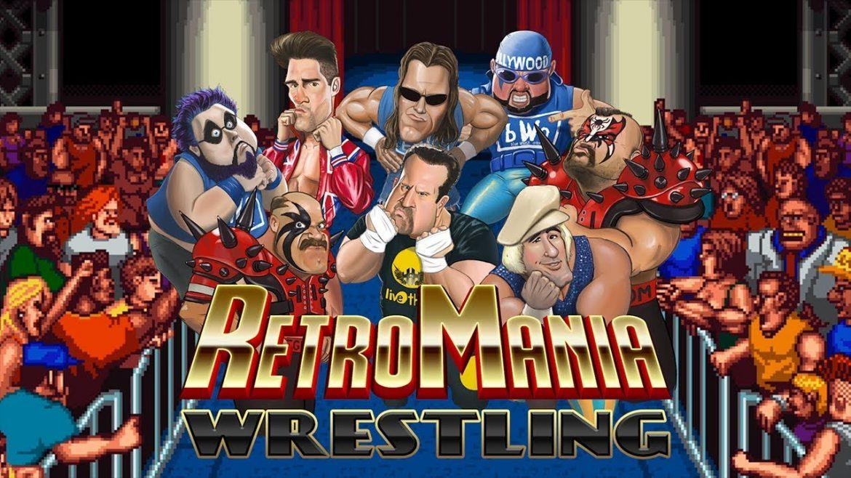 RetroMania Wrestling Naslovna