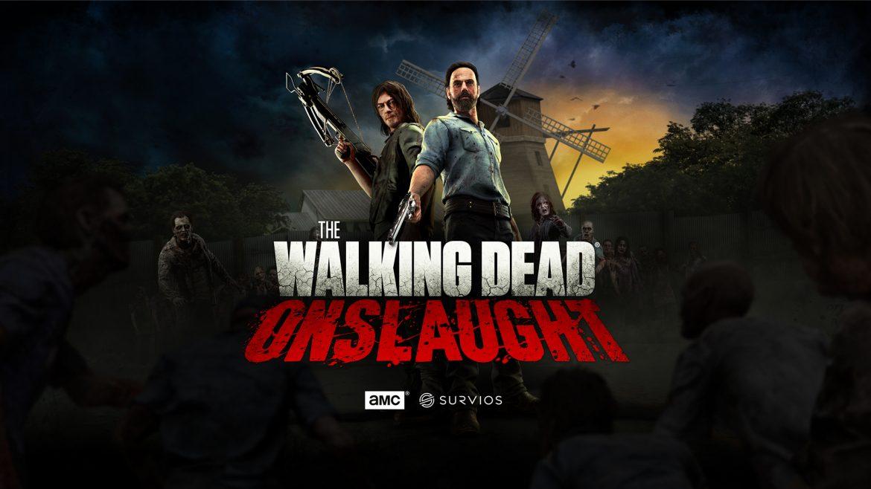 The Walking Dead Onslaught Naslovna