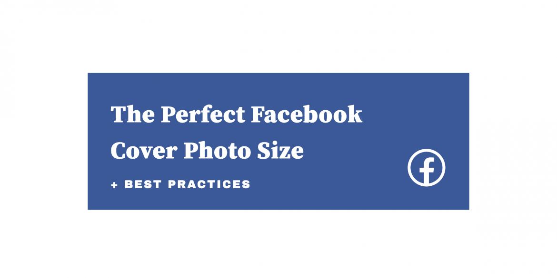 Savršena veličina Facebook naslovne fotografije Naslovna