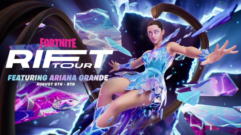 Ariana Grande Fortnite Naslovna